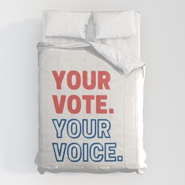 Your Vote Your Future Comforters