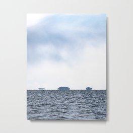 Salty Water Metal Print