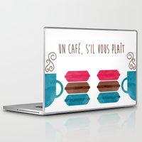 macarons Laptop & iPad Skins featuring Macarons  by Daniela Marti