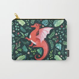 Tropical Dragon Carry-All Pouch