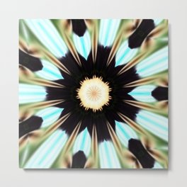Take a Hold Mandala Metal Print