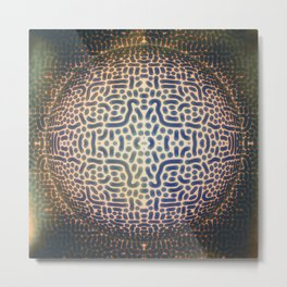 World Of Signs Metal Print