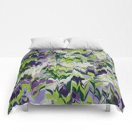 Nature Orchid Garden Comforters