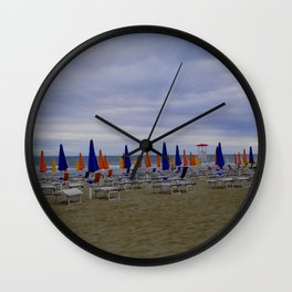 Summer Is Ending With Flying Colors Wall Clock