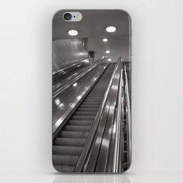 Underground station - stairs - Brandenburg Gate - Berlin iPhone Skin