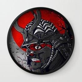 Samurai Z Wall Clock
