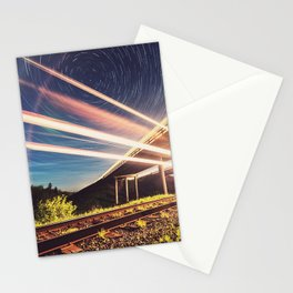'Midnight Train to Georgia' Stationery Cards