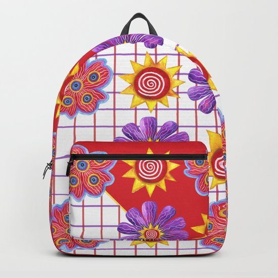 Flowers of the Sun Backpack