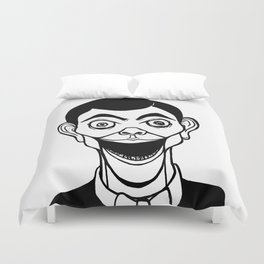 Night of the Living Dummy Duvet Cover