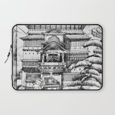 Spirited Away Bathhouse Laptop Sleeve