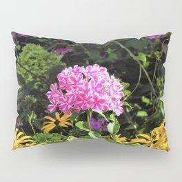 Peppermint Twist Garden Phlox in the Flower Garden Pillow Sham