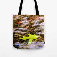 underwater Tote Bags featuring underwater by Bonnie Jakobsen-Martin