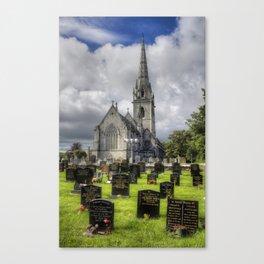North Wales Church Canvas Print