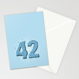 42 ice Stationery Cards