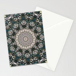 Symmetrical Ornate Mandala Stationery Cards