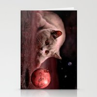 bruno mars Stationery Cards featuring Mouse on Mars by teddynash