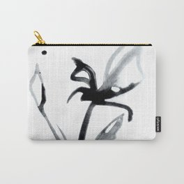 Brushstroke Floral No. 14 by Kathy Morton Stanion Carry-All Pouch