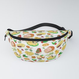 Christmas Feast Fanny Pack