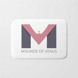 Mounds of Venus Bath Mat