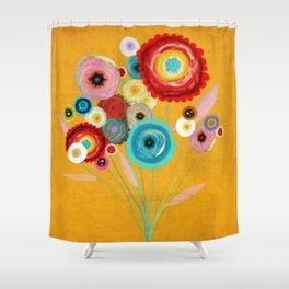 Run and Hide  Shower Curtain