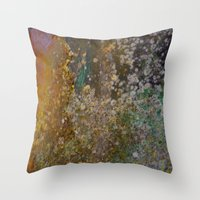 rustic Throw Pillows featuring Rustic by Herzensdinge