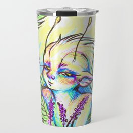 The Lavender Garden Fairy Travel Mug