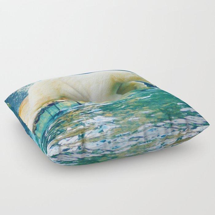 Polar Floor Pillow