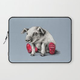 Piggy in Welly Laptop Sleeve
