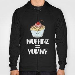 Muffinz Yummy Internet Meme Foodie Muffin Hoody