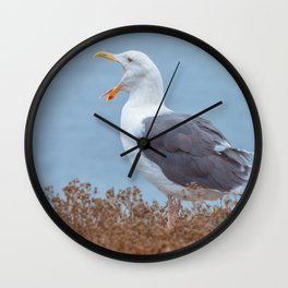 Widely Open Wall Clock