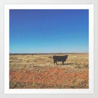 Sassy Cow Art Print