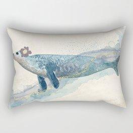 Pretty Seal Surreal - Seacoast Fantasy Rectangular Pillow