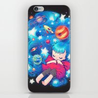 barachan iPhone & iPod Skins featuring space by barachan