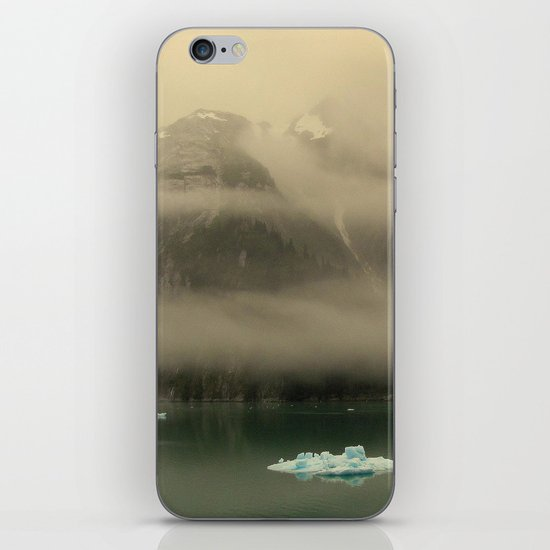 Icebergs in Alaska iPhone & iPod Skin