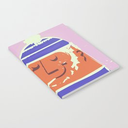 Cornwall vintage travel poster Notebook