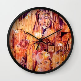 Telse and Magdalena or the question: how free is a Dithmarscher? Wall Clock