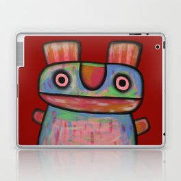 Rabbit work out Laptop & iPad Skin