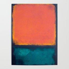 Rothko Inspired V Poster