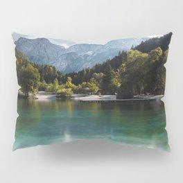 Lake Jasna in Kranjska Gora, Slovenia Pillow Sham