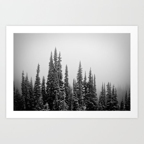 Winter Fog Art Print