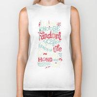 risa rodil Biker Tanks featuring Fandom Life by Risa Rodil