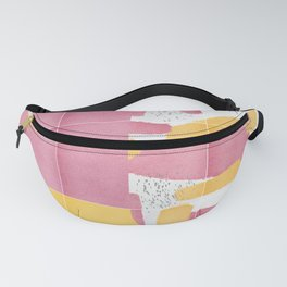 Bold Painted Tiles 01 #society6 #midmod Fanny Pack