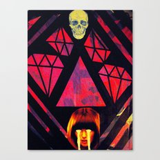 cult of cruelty Canvas Print