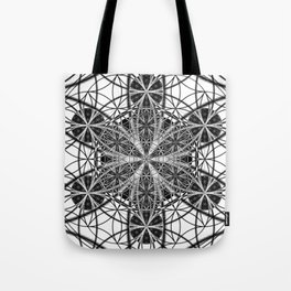 Down That Rabbit Hole - The Sacred Geometry Collection Tote Bag