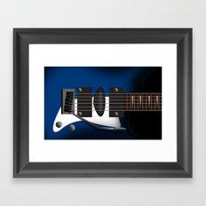 GUITAR MUSIC Framed Art Print
