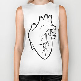 Be Still My Heart Biker Tank