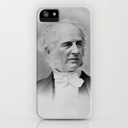 Cornelius Vanderbilt - Railroad and Shipping Magnate iPhone Case
