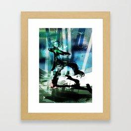 Ethereal What-Knotts Framed Art Print