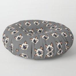 Siamese Cat Floor Pillow