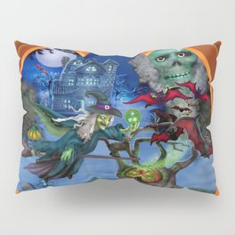 Witch's Magic Spell Pillow Sham